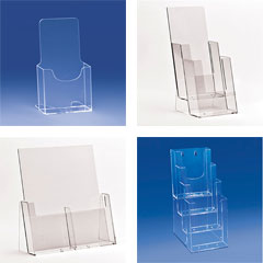 LEAFLET HOLDERS & BROCHURE STANDS